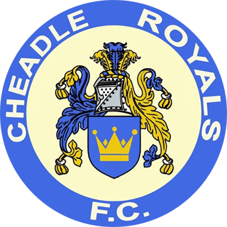 CHEADLE ROYAL FC LOGO CLUB