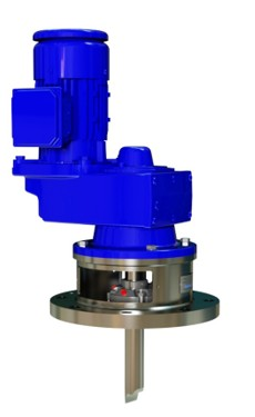 MIXER WITH MECHANICAL SEAL