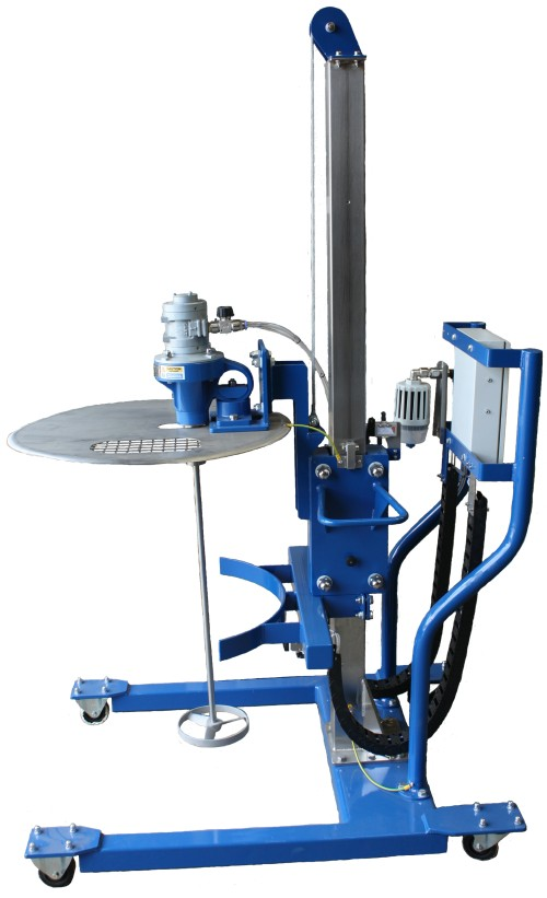 AIR / PNEUMATIC MIXER AND STAND
