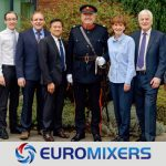 EUROMIXERS QUEENS AWARD FOR ENTERPRISE INNOVATION 2018