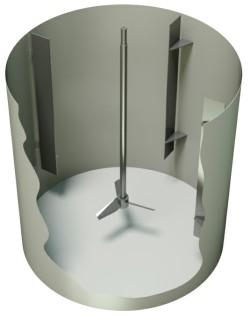 Tank Baffle - Euromixers