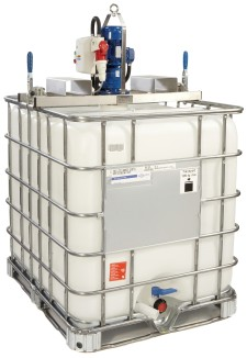 IBC Mixers | Industrial Fluid Mixers & Agitators | Tote Tank