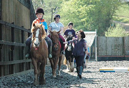 Riding for the disabled (RDA) fund raising appeal